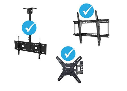 compatible wall mounts