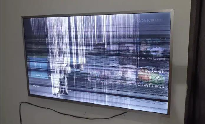 Damaged-tv